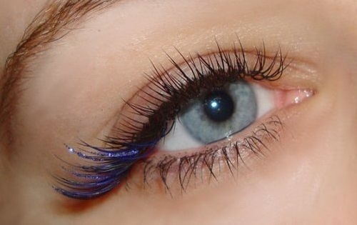 colored eyelash extension, holistic fusion, englishtown, nj, eyelash extensions, natural, organic, spa